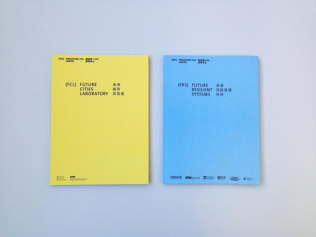 Eva Plass: ETH Future Resilient Systems – Print / bei Integral Ruedi Baur Zürich / 2014