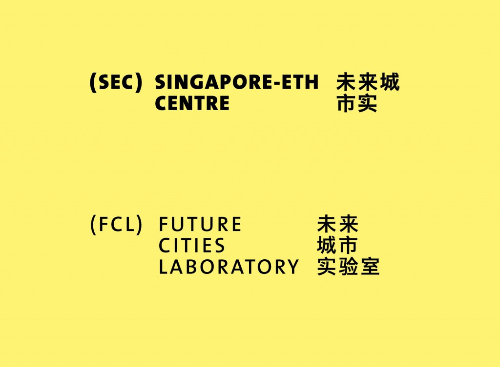 Eva Plass: ETH Future Cities Laboratory – Visuelle Identität / bei Integral Ruedi Baur Zürich / 2012