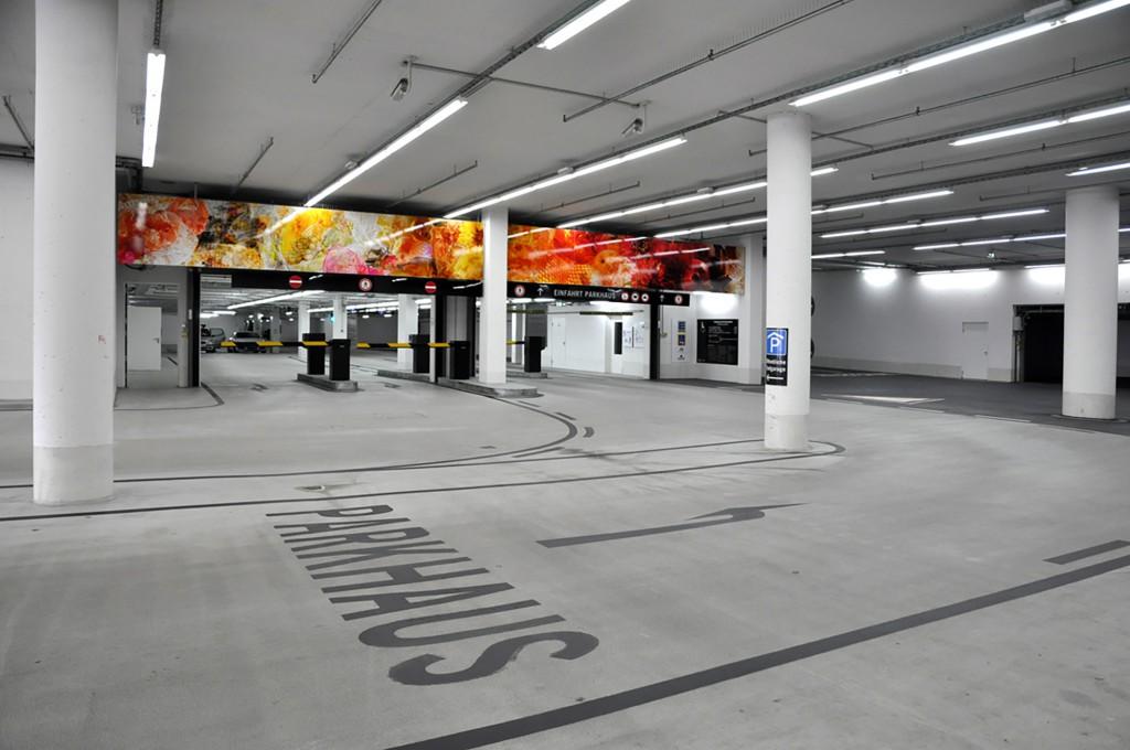 Eva Plass: Killesberghöhe Stuttgart – Signaletik / bei Integral Ruedi Baur Zürich / 2013