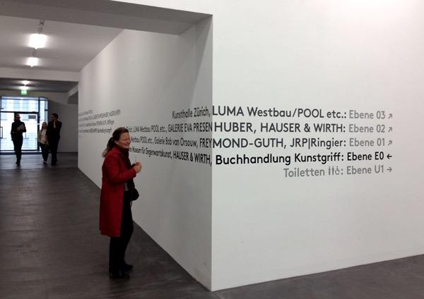 Eva Plass: <strong>Löwenbräu Kunstareal Zürich</strong><br> &ndash; Besucherleitsystem / bei Integral Ruedi Baur Zürich