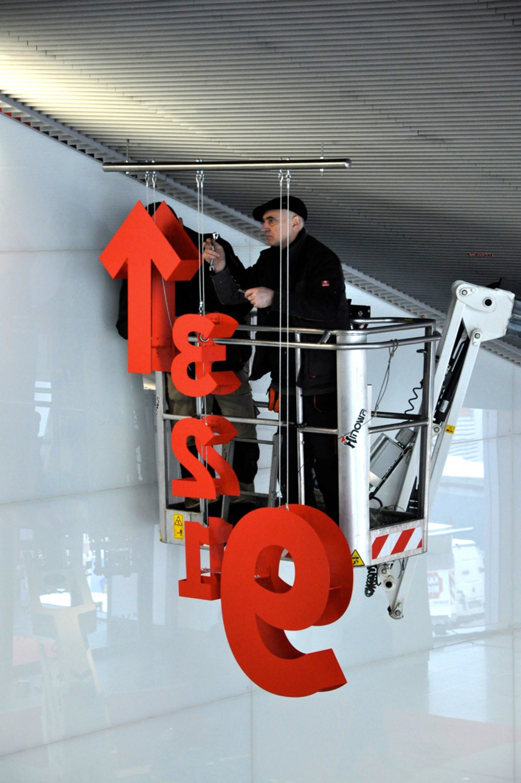 Eva Plass: <strong>Messe Frankfurt</strong><br> &ndash; Leit- und Informationssystem Konzept / bei Integral Ruedi Baur Zürich