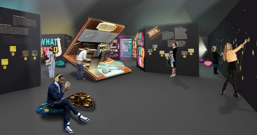 Eva Plass: Rock'n'Pop Museum Gronau – Wettbewerb Ausstellungsgestaltung / 2014