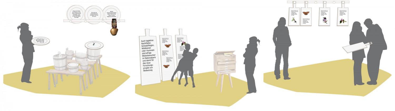 Eva Plass: <strong>Klausbachhaus Berchtesgaden</strong><br> – Wettbewerb Ausstellungsgestaltung / 2014