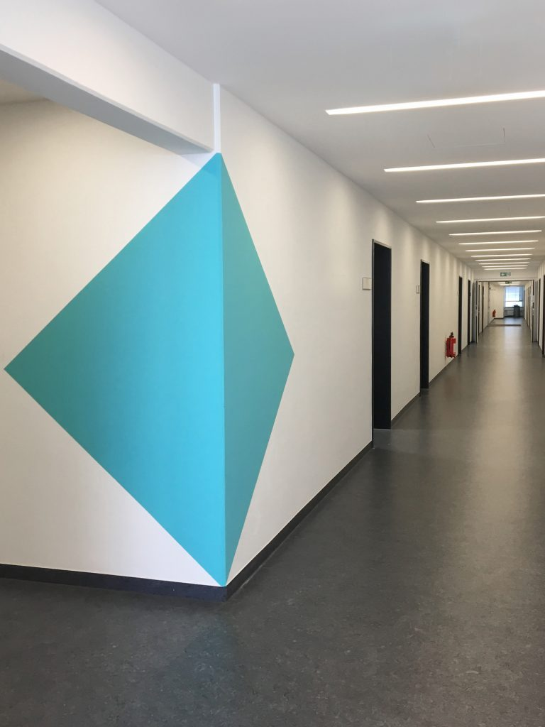 Eva Plass: Baureferat München – Signaletik / Realisierung 2018