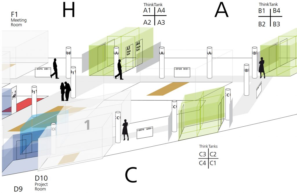 Eva Plass: Webasto Roof & Components SE Stockdorf – Signaletik Office / Realisierung 2018