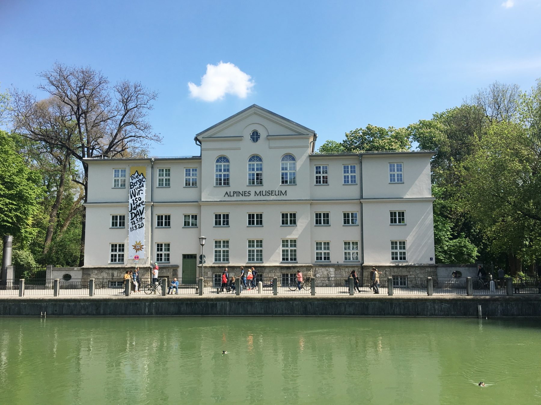 Eva Plass: <strong>Alpines Museum Sonderausstellung 150 Jahre DAV – Die Berge und wir</strong><br> – Ausstellungsgestaltung / München 2019